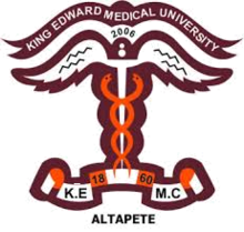 Merit list Doctor of Physical Therapy (DPT) 2018 King Edward Medical University, Lahore