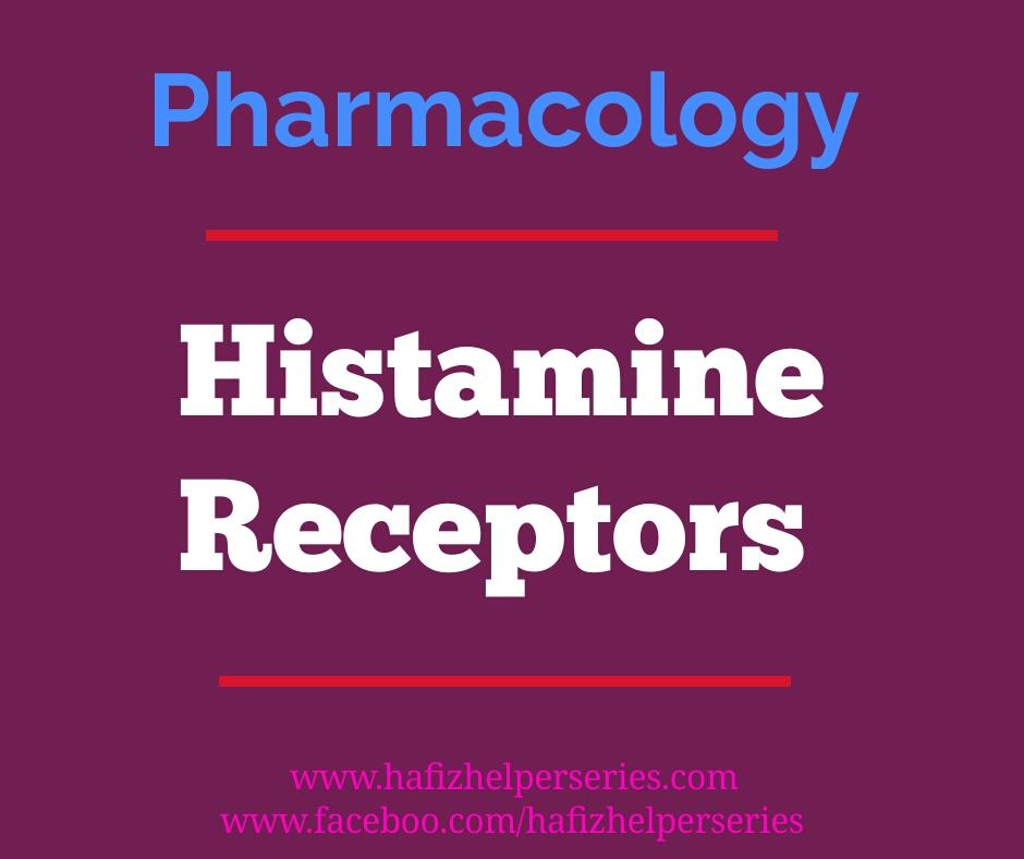 Histamine Receptors, Location-Agonist-Antagonist