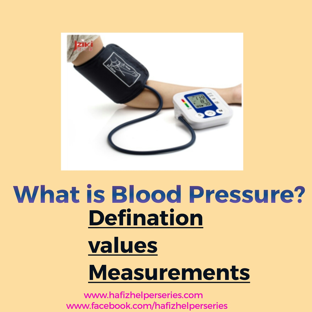 What Is Blood Pressure? Defination, Measurement and Hypertension