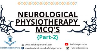 Neurological Physiotherapy MCQ's (Part# 02)