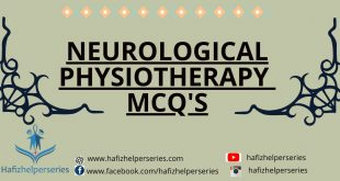 Neurological Physiotherapy MCQ's (Part# 01)