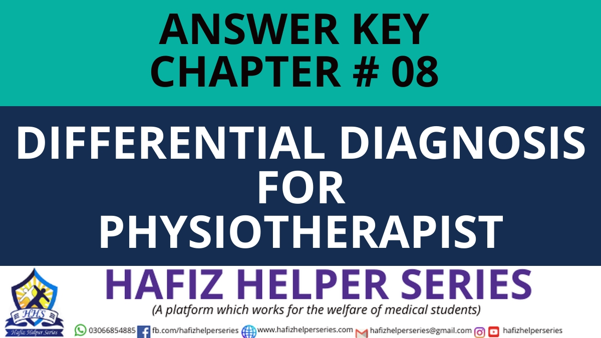 Elsevier: Goodman & Snyder: Differential Diagnosis for Physical Therapists Screening for Referral|| Chapter 08 (Answer Key)