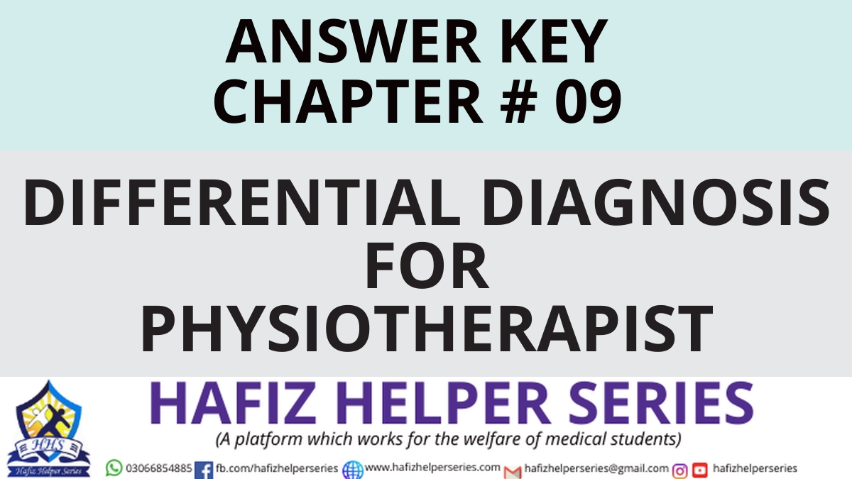 Elsevier: Goodman & Snyder: Differential Diagnosis for Physical Therapists Screening for Referral|| Chapter 09 (Answer Key)
