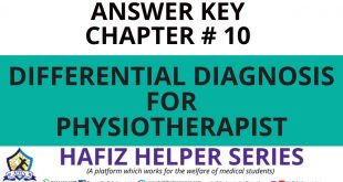 Elsevier: Goodman & Snyder: Differential Diagnosis for Physical Therapists Screening for Referral|| Chapter 10 (Answer Key)