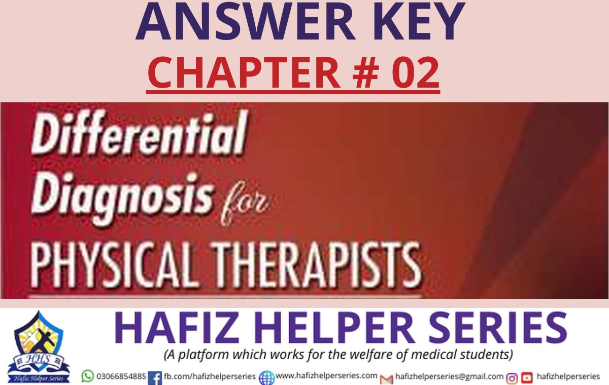 Differential Diagnosis (DD) Answer Key || Chapter 02