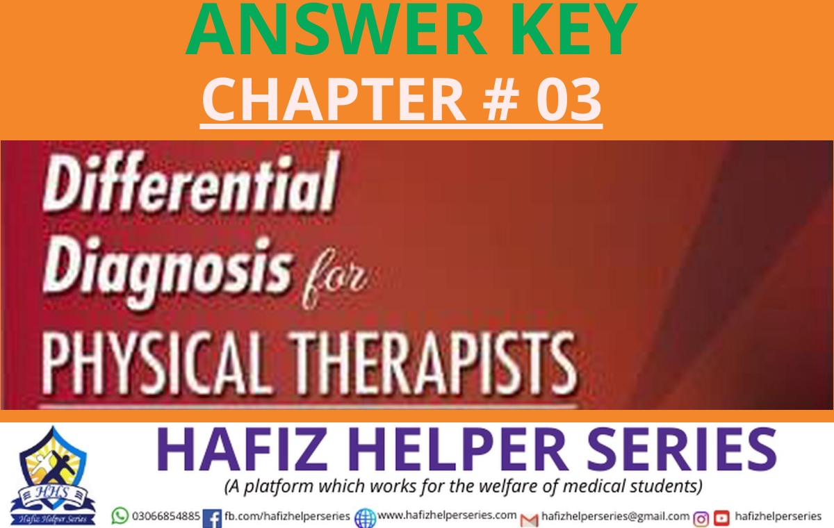 Differential Diagnosis (DD) Answer Key || Chapter 03