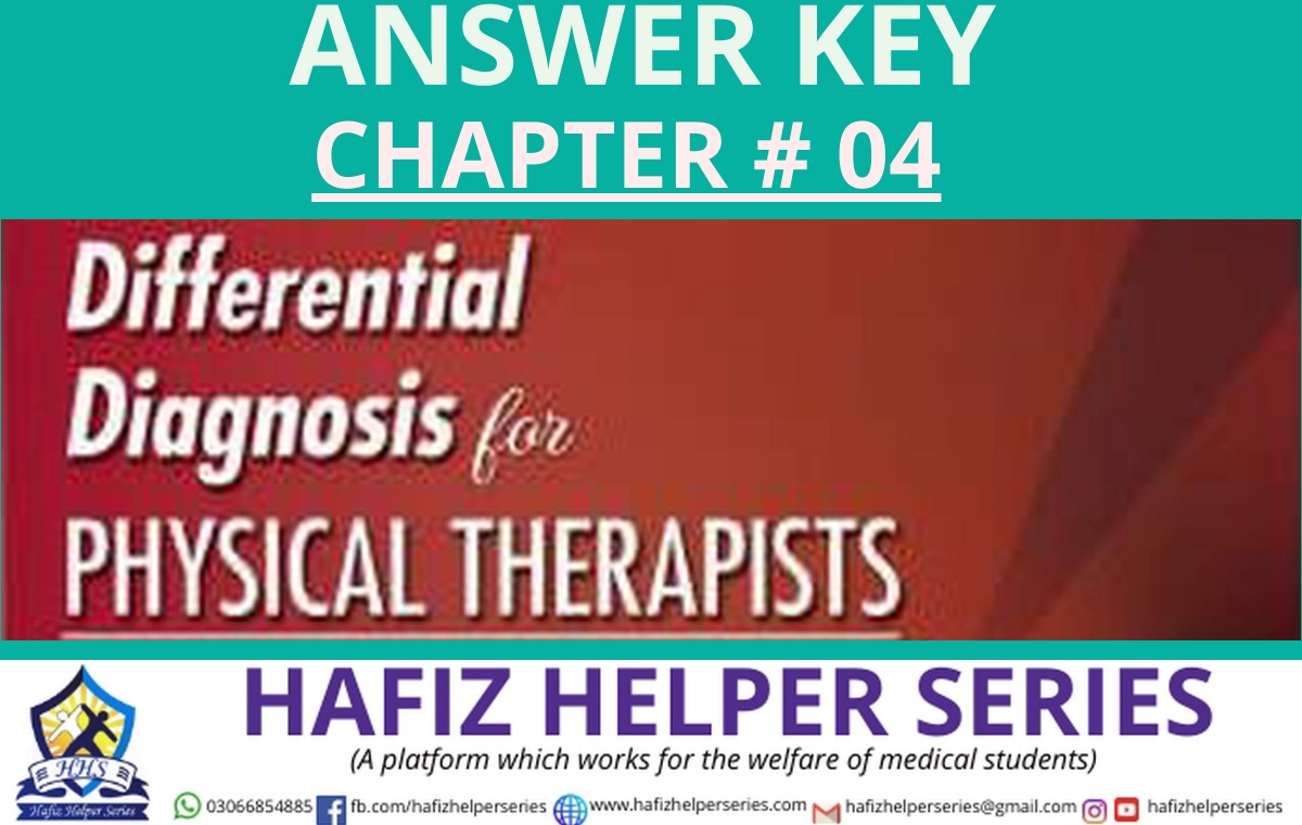 Differential Diagnosis (DD) Answer Key || Chapter 04