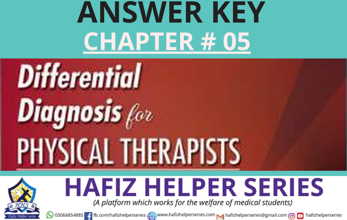 Differential Diagnosis (DD) Answer Key || Chapter 05