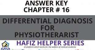 Elsevier: Goodman & Snyder: Differential Diagnosis for Physical Therapists Screening for Referral|| Chapter 16 (Answer Key)