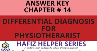 Elsevier: Goodman & Snyder: Differential Diagnosis for Physical Therapists Screening for Referral|| Chapter 14 (Answer Key)